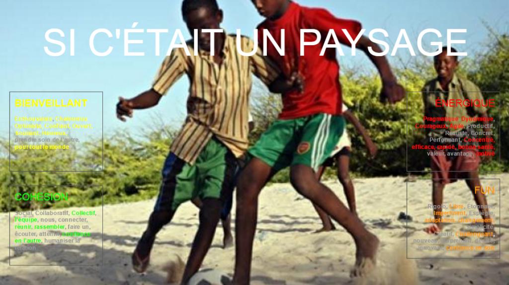 De jeunes joueurs de foot